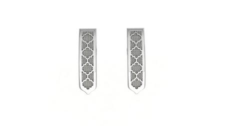 Earrings Classic Silver