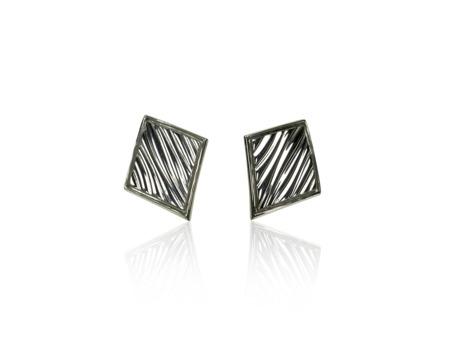 Earrings Baltic White