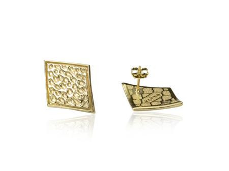 Earrings Vesuvio Gold