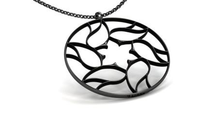 Necklace Milano Black