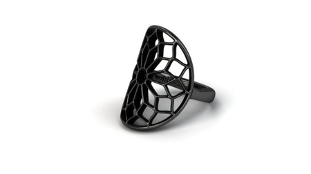 Ring Chartres Black