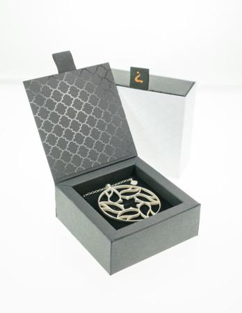 Halskette Milano Weiß