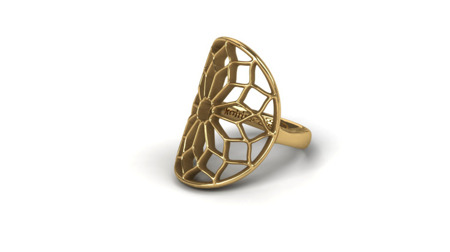 Ring Chartres Golden