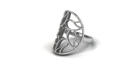 Ring Milano Weiß