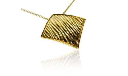Naszyjnik pozłacany Baltic Gold